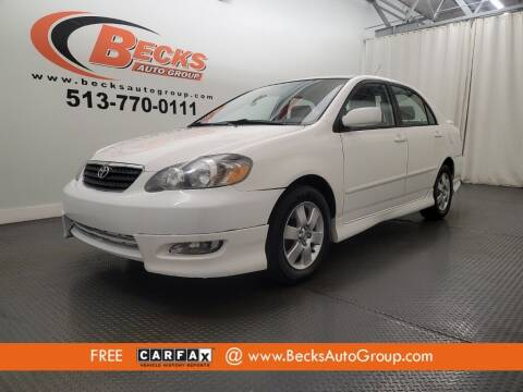 2008 Toyota Corolla for sale at Becks Auto Group in Mason OH
