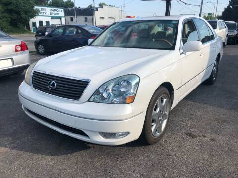 2001 Lexus LS 430 for sale at Kellis Auto Sales in Columbus OH