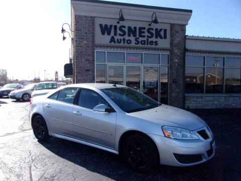 2009 Pontiac G6 for sale at Wisneski Auto Sales, Inc. in Green Bay WI