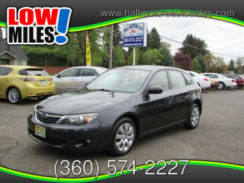 2009 Subaru Impreza for sale at Hall Motors LLC in Vancouver WA