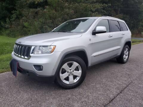 2011 Jeep Grand Cherokee for sale at TM AUTO WHOLESALERS LLC in Chesapeake VA