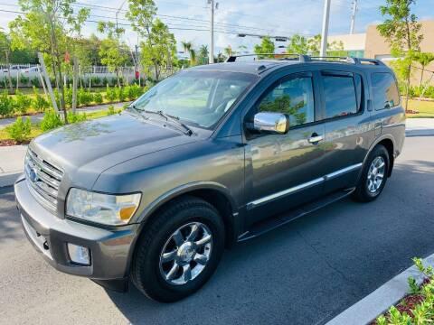 2006 Infiniti QX56 for sale at LA Motors Miami in Miami FL