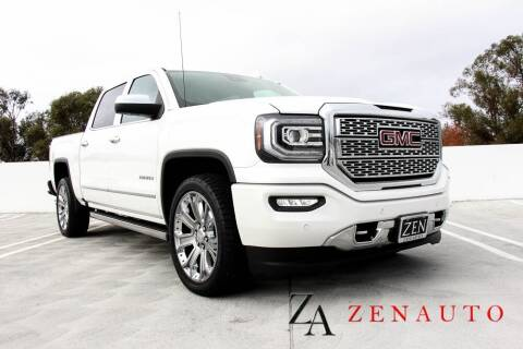 2017 GMC Sierra 1500 for sale at Zen Auto Sales in Sacramento CA