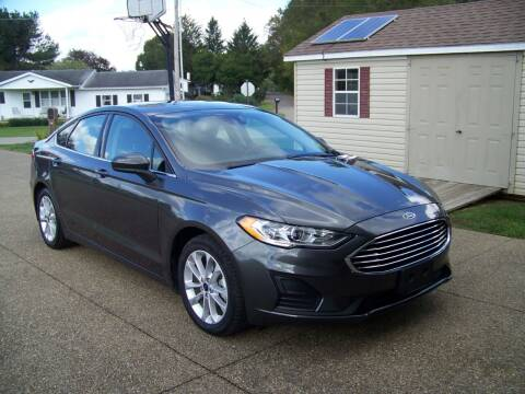 2020 Ford Fusion Hybrid for sale at Collector Car Co in Zanesville OH