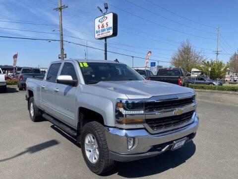 2018 Chevrolet Silverado 1500 for sale at S&S Best Auto Sales LLC in Auburn WA