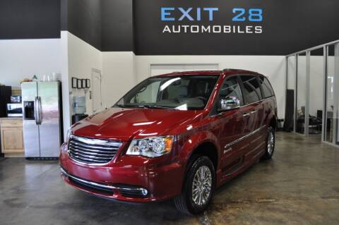 2012 Chrysler Town and Country for sale at Exit 28 Auto Center LLC in Cornelius NC