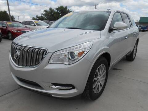 2017 Buick Enclave for sale at Nemaha Valley Motors in Seneca KS