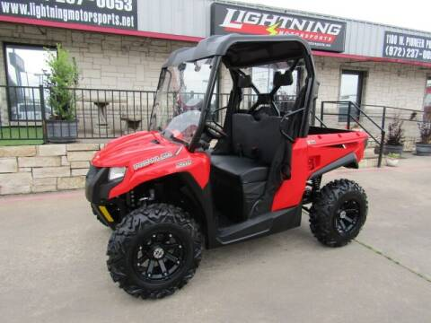 2019 Tracker 500 side by side for sale at Lightning Motorsports in Grand Prairie TX