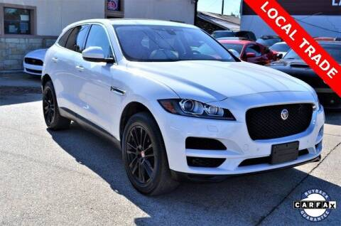 2019 Jaguar F-PACE for sale at LAKESIDE MOTORS, INC. in Sachse TX