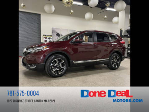 2018 Honda CR-V for sale at DONE DEAL MOTORS in Canton MA