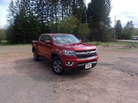 2015 Chevrolet Colorado for sale at Warga Auto and Truck Center in Phillips WI