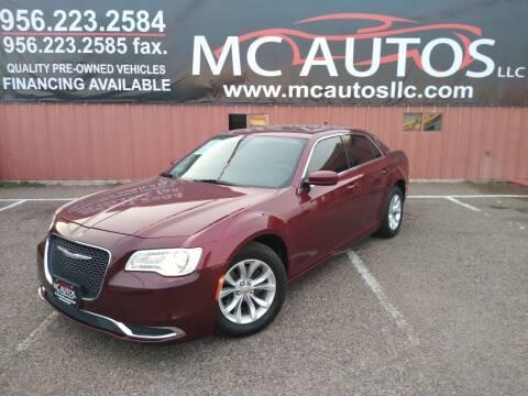 2016 Chrysler 300 for sale at MC Autos LLC in Pharr TX