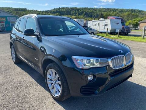 2015 BMW X3 for sale at DETAILZ USED CARS in Endicott NY