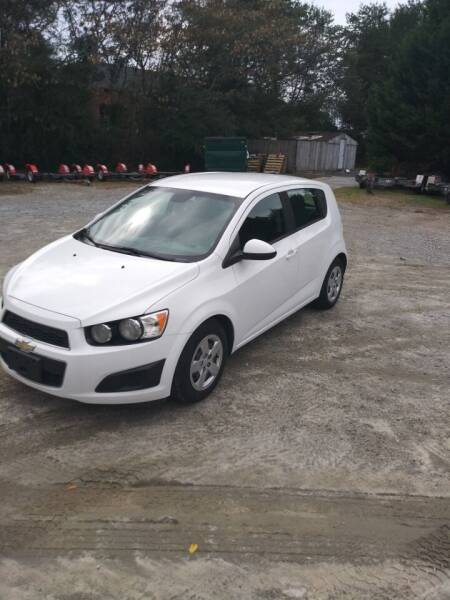 2013 Chevrolet Sonic for sale at Chandler Auto Sales - ABC Rent A Car in Lawrenceville GA