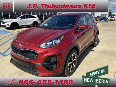2020 Kia Sportage for sale at J P Thibodeaux Used Cars in New Iberia LA