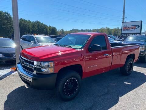 2012 Chevrolet Silverado 1500 for sale at Billy Ballew Motorsports in Dawsonville GA