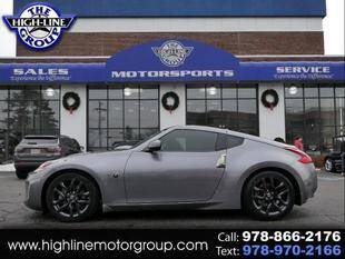 2019 Nissan 370Z for sale at Highline Group Motorsports in Lowell MA