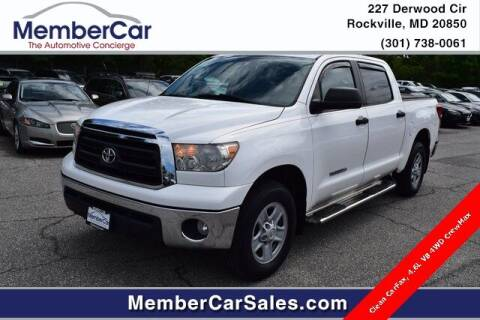 2013 Toyota Tundra for sale at MemberCar in Rockville MD