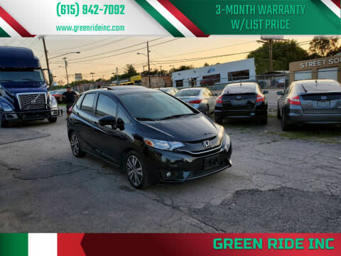 2015 Honda Fit for sale at Green Ride Inc in Nashville TN