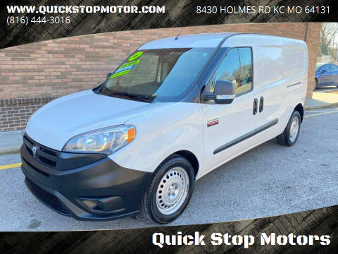 2016 RAM ProMaster City Cargo for sale at Quick Stop Motors in Kansas City MO