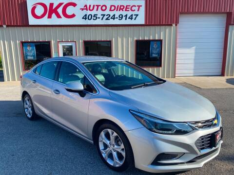 2016 Chevrolet Cruze for sale at OKC Auto Direct in Oklahoma City OK