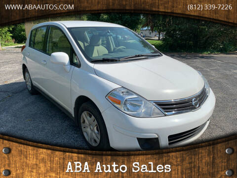 2012 Nissan Versa for sale at ABA Auto Sales in Bloomington IN