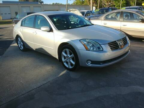 2005 Nissan Maxima for sale at QUALITY AUTO SALES OF FLORIDA in New Port Richey FL