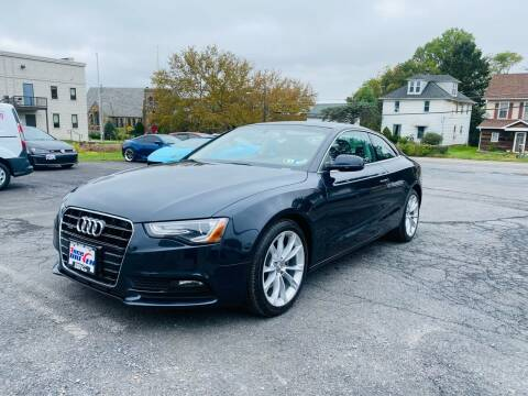 2013 Audi A5 for sale at 1NCE DRIVEN in Easton PA