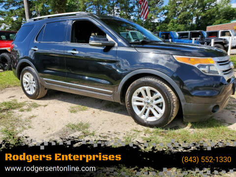 2011 Ford Explorer for sale at Rodgers Enterprises in North Charleston SC