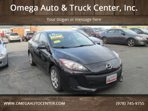2012 Mazda MAZDA3 for sale at Omega Auto & Truck Center, Inc. in Salem MA