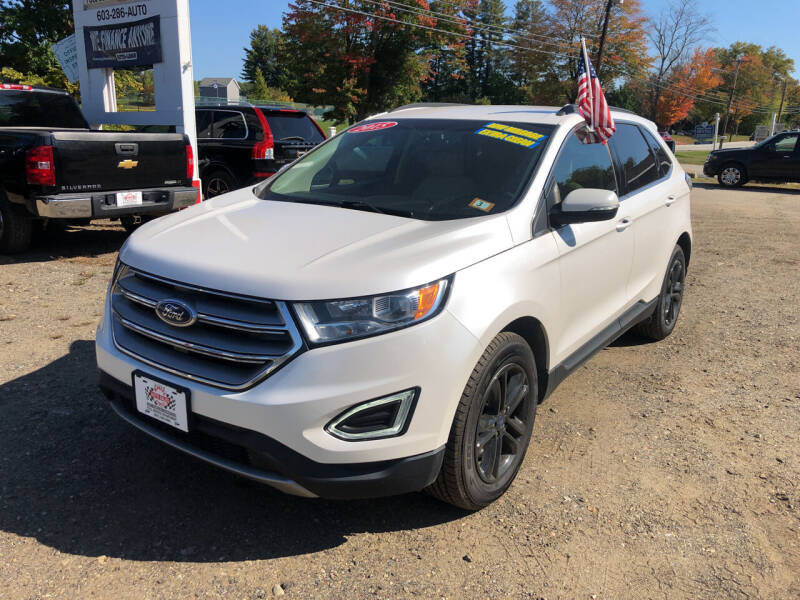 2015 Ford Edge for sale at Winner's Circle Auto Sales in Tilton NH