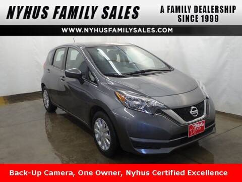 2017 Nissan Versa Note for sale at Nyhus Family Sales in Perham MN