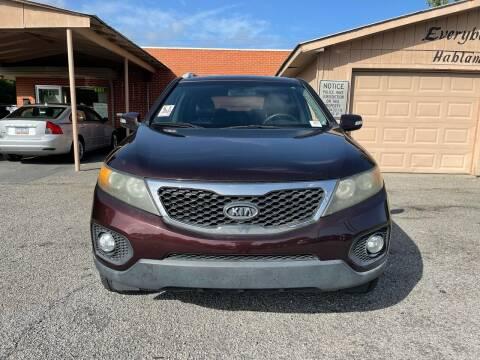 2011 Kia Sorento for sale at Auto Mart in North Charleston SC