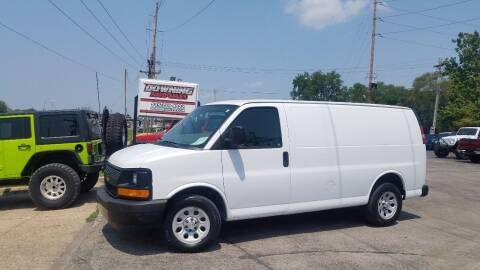 2013 Chevrolet Express Cargo for sale at Downing Auto Sales in Des Moines IA