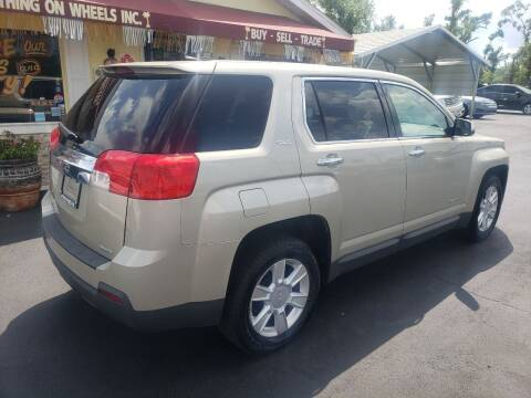 2013 GMC Terrain for sale at ANYTHING ON WHEELS INC in Deland FL