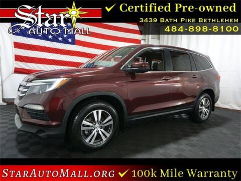 2017 Honda Pilot for sale at STAR AUTO MALL 512 in Bethlehem PA