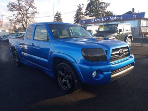 2007 Toyota Tacoma for sale at All American Motors in Tacoma WA
