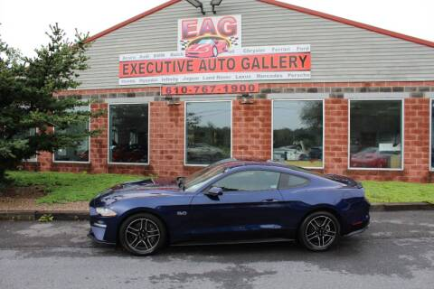 2019 Ford Mustang for sale at EXECUTIVE AUTO GALLERY INC in Walnutport PA