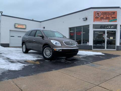 2009 Buick Enclave for sale at HIGHLINE AUTO LLC in Kenosha WI