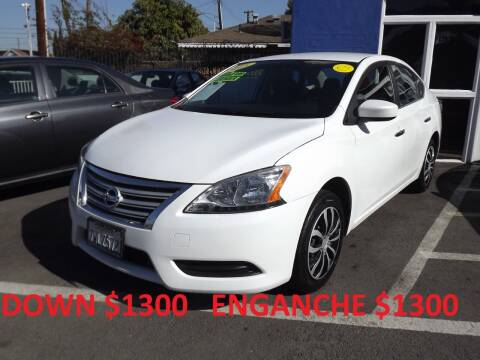 2015 Nissan Sentra for sale at PACIFICO AUTO SALES in Santa Ana CA