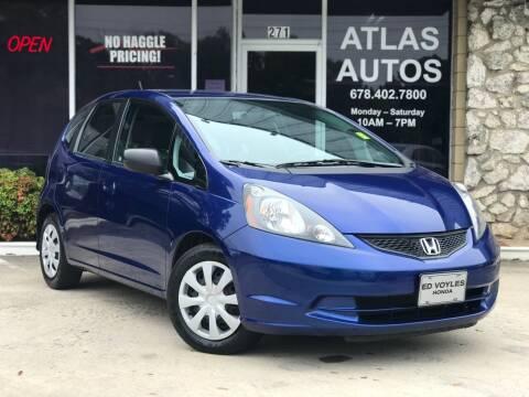 2009 Honda Fit for sale at ATLAS AUTOS in Marietta GA