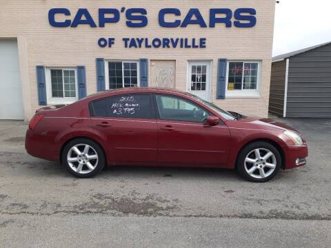 2005 Nissan Maxima for sale at Caps Cars Of Taylorville in Taylorville IL