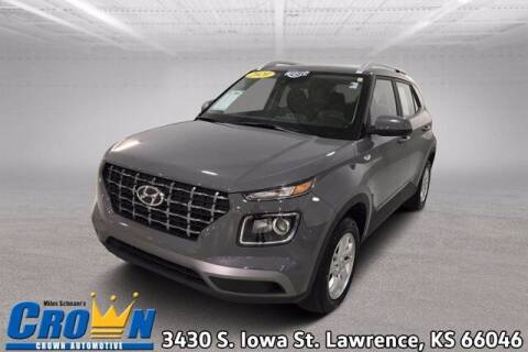 2020 Hyundai Venue for sale at Crown Automotive of Lawrence Kansas in Lawrence KS