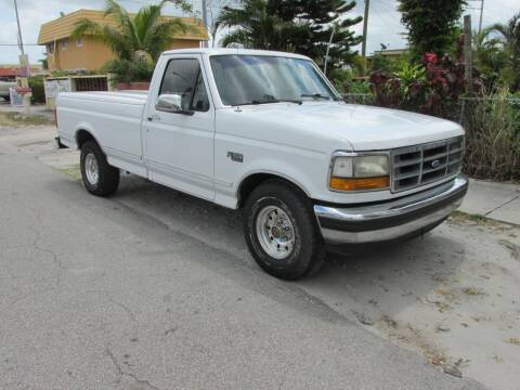 1994 Ford F-150 for sale at TROPICAL MOTOR CARS INC in Miami FL