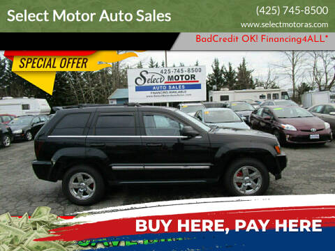 2006 Jeep Grand Cherokee for sale at Select Motor Auto Sales in Lynnwood WA