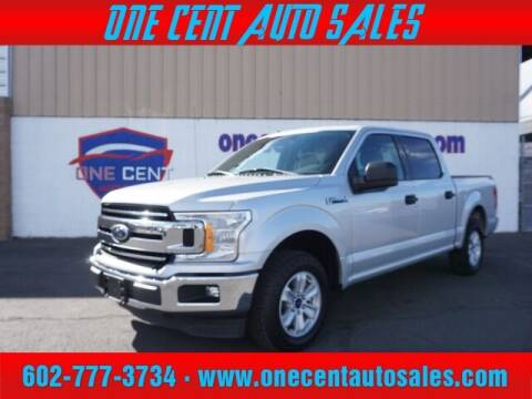 2018 Ford F-150 for sale at One Cent Auto Sales in Glendale AZ