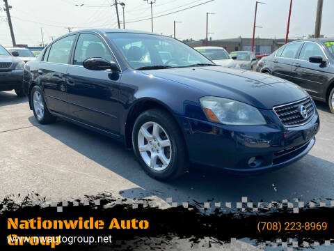 2006 Nissan Altima for sale at Nationwide Auto Group in Melrose Park IL