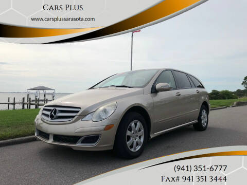 2006 Mercedes-Benz R-Class for sale at Cars Plus in Sarasota FL