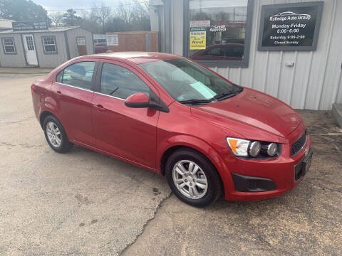 2014 Chevrolet Sonic for sale at Rutledge Auto Group in Palestine TX