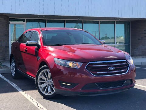 2017 Ford Taurus for sale at AKOI Motors in Tempe AZ
